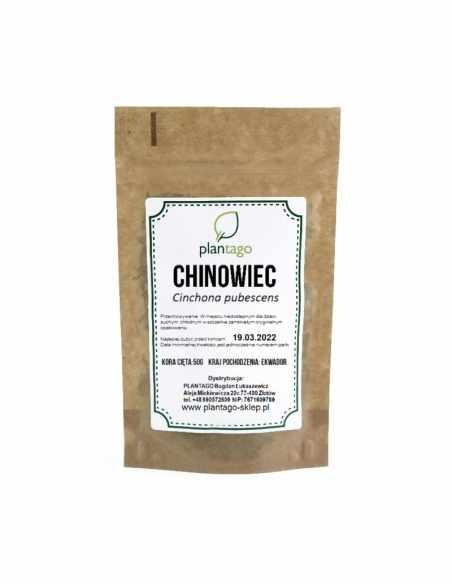 Chinowiec (Cinchona pubescens) - kora cięta