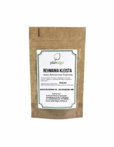 Rehmania kleista  SHU DI HUANG | Radix Rehmanniae Preparata )