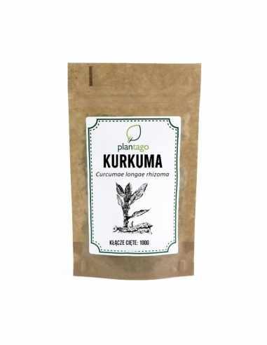 Kurkuma ( Curcumea longa ) cięta