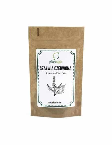 Szałwia czerwona ( Salvia miltiorrhiza ) korzeń