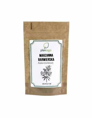 Marzanna barwierska ( Rubia tinctorum ) korzeń cięty